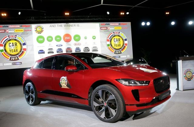 electric jaguar wins car of the year in europe business Jaguar Car Of The Year