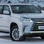 Lexus Gx Refresh Rendered Showing A Sharper Face Lexus Gx Body Style Change