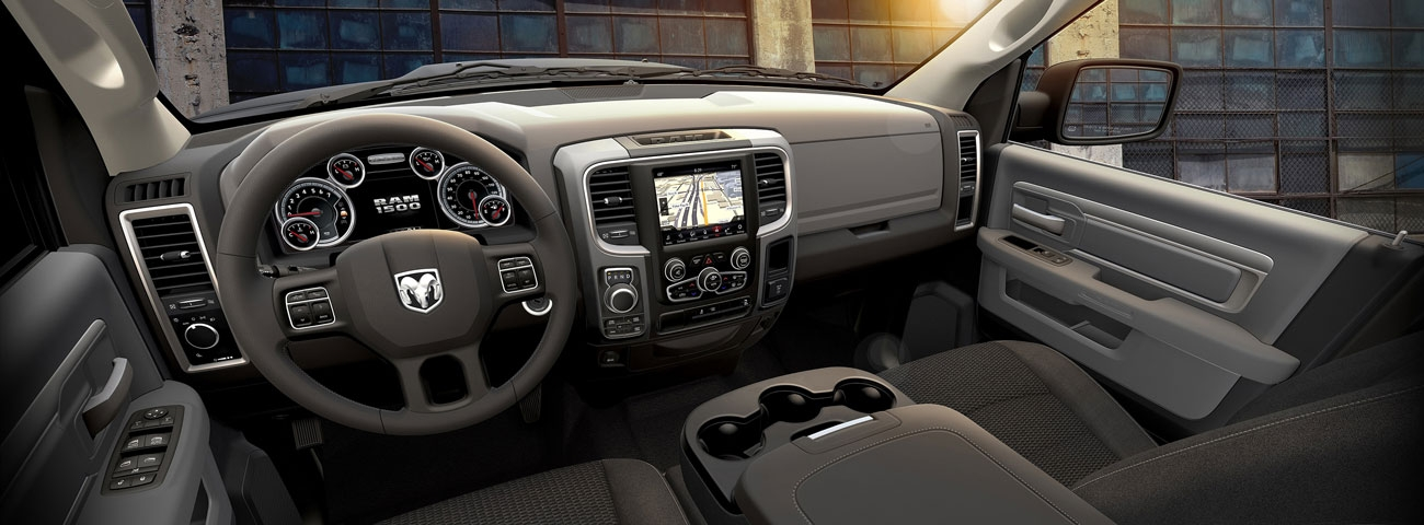 ram truck launches new 2019 ram 1500 classic warlock fca group Dodge Warlock Interior