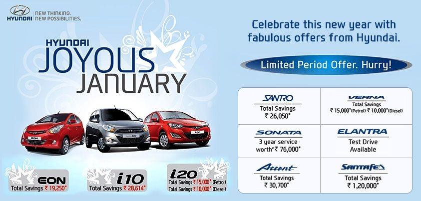 heres your chance to turn your dream of driving a hyundai Hyundai Offers January