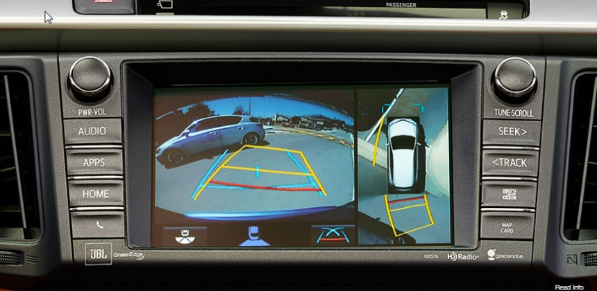 how to use toyotas birds eye view camera Toyota Bird'S Eye View