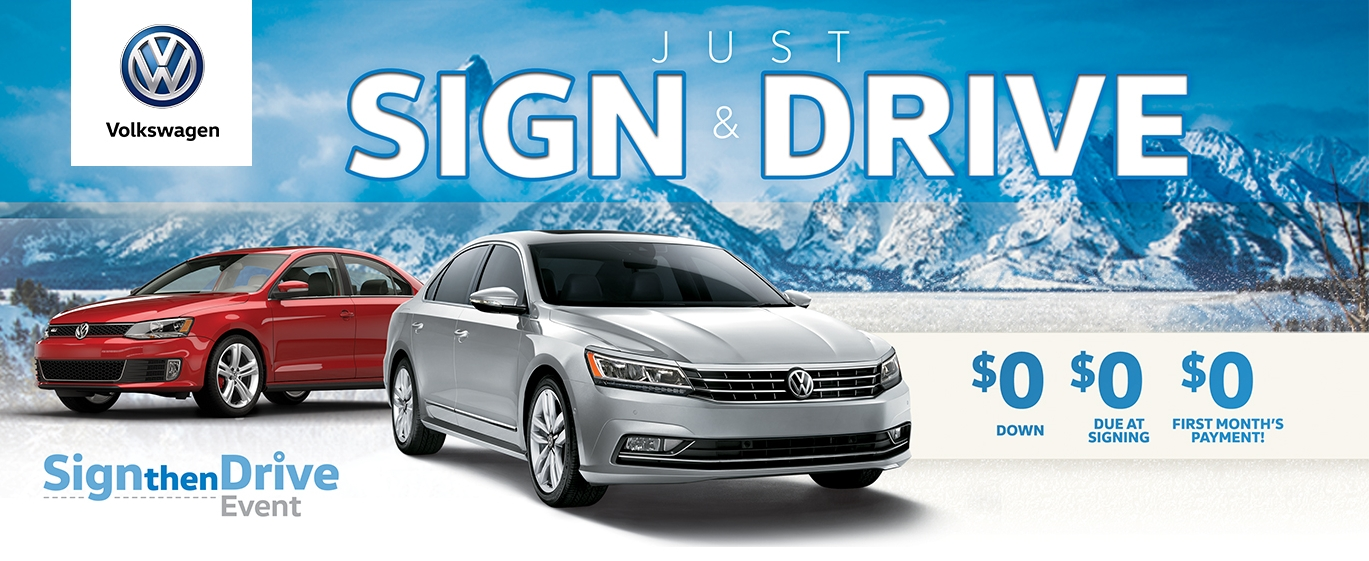 its the november sign and drive event at fremont volkswagen Volkswagen Sign And Drive