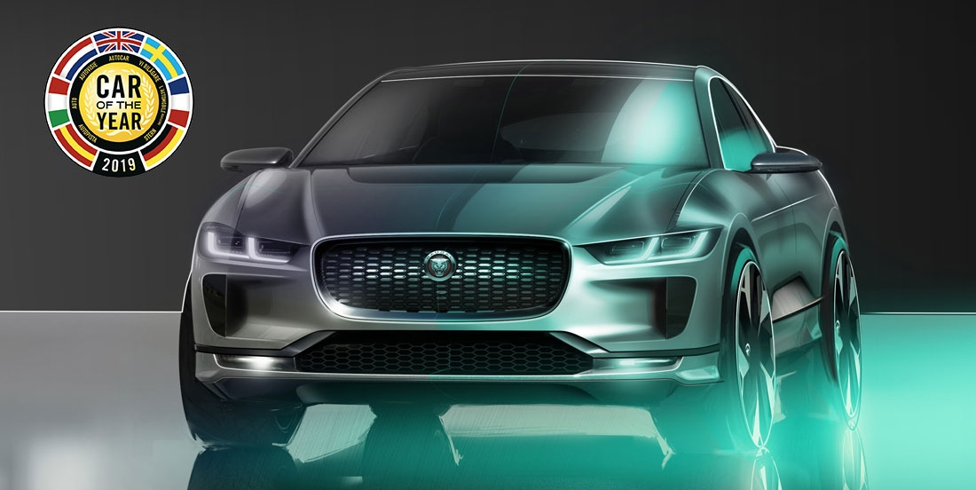 jaguar i pace is the 2019 car of the year autodesign Jaguar I Pace Car Of The Year