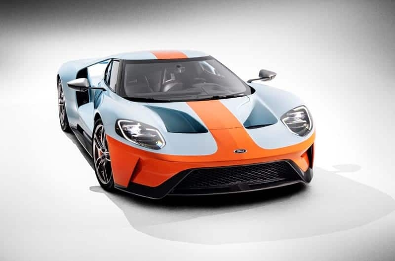 new 2019 ford gt heritage edition honors most famous paint Ford Gt Heritage Edition