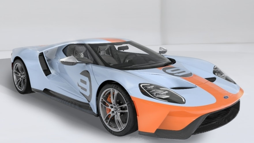 united way auctioning 2019 ford gt gulf heritage edition Ford Gt Heritage Edition