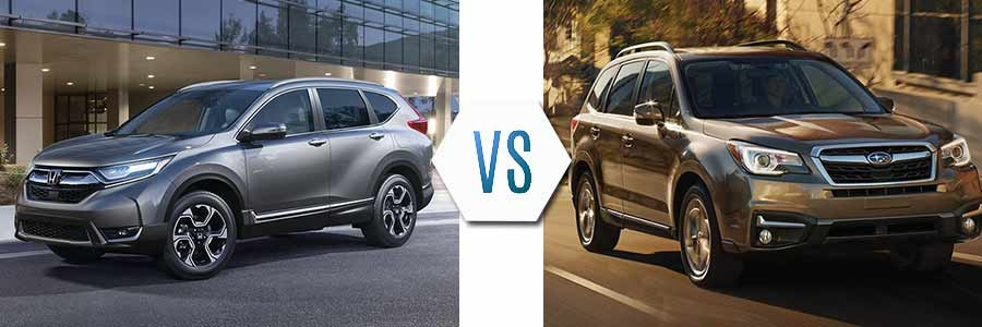2018 honda cr v vs 2018 subaru forester dick hannah honda Subaru Forester 2018 Vs