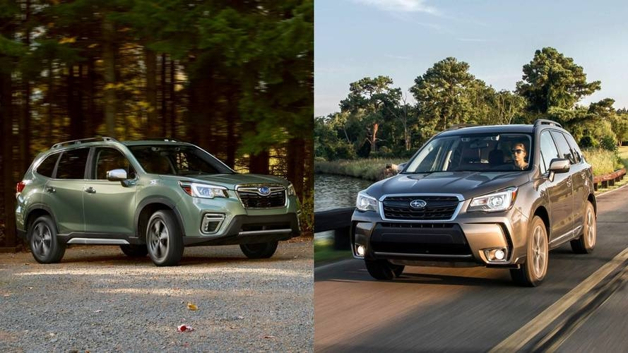 2019 subaru forester see the changes side side Subaru Forester 2018 Vs