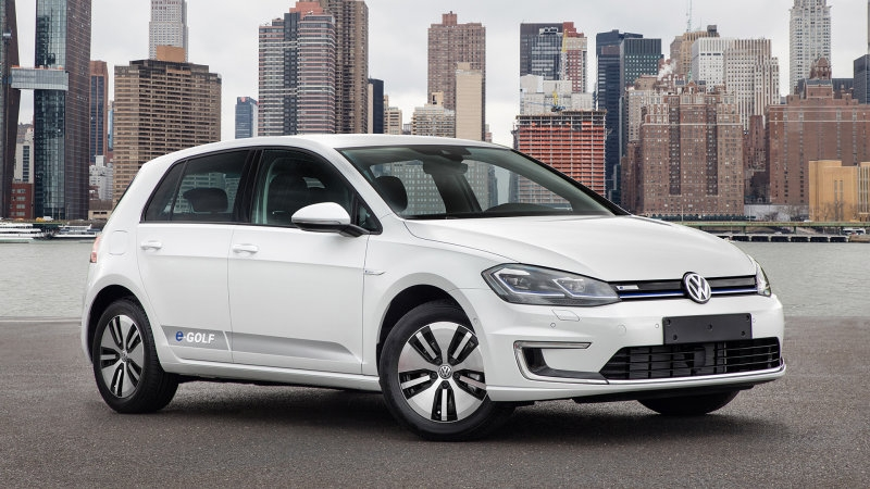 vw quietly discontinues the e golf electric hatch in us Volkswagen Electric Golf