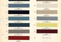 1964 chevrolet paint chips xframechevy Chevrolet Impala Colors