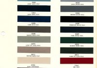 1967 mustang interior paint chip chart with paint codes Ford Interior Color Chart