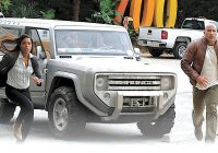 2004 bronco concept hits street sort of Dwayne Johnson Ford Bronco