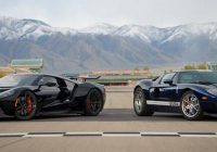 2005 ford gt vs 2020 ford gt capturing lightning in a Ford Gt Quarter Mile Time