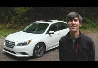 2020 subaru legacy 36r limited review test drive Subaru Legacy 3.6r Limited