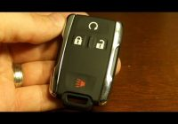 2020 chevy silverado key fob battery replacement Gmc Key Fob Battery Replacement