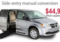 2020 dodge grand caravan manual side entry wheelchair van Dodge Grand Caravan Manual