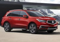 2018 acura mdx offers better infotainment flashier colors Difference Between 2018 And Acura Mdx
