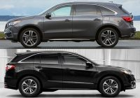2020 acura mdx vs 2020 acura rdx whats the difference Dimensions Of Acura Rdx