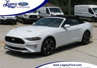 2020 ford mustang for sale in mcdonough 1fatp8uh6j5178724 legacy ford of mcdonough inc Ford Mustang Convertible