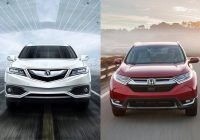 2020 honda cr v vs 2020 acura rdx head to head us news Acura Rdx Vs Honda Crv
