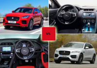 2018 jaguar e pace vs 2017 jaguar f pace comparison gearopen Jaguar EPace Vs F Pace
