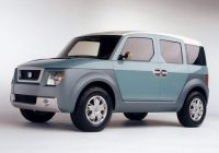 2020 honda element release date specs price suv project Honda Element Release Date