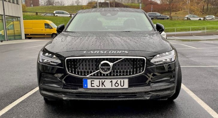 Permalink to Volvo S90 2020 Facelift