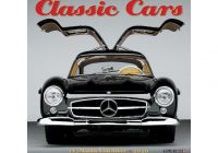 calendars classic cars mini wall calendar with full color pages all major significant holidays Mercedes Wall Calendar