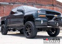 chevy silverado 1500 4wd suspension lift kit w lifted struts 7 lift Chevrolet Silverado Lift Kit
