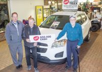 dream lottery ticket purchases help powell river kings Chevrolet Lottery Winners