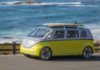 electric kombi will create a buzz for vw fans but its Volkswagen Electric Bus