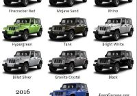 exterior colors for 2018 jeep wrangler color 2018 Jeep Wrangler Exterior Colors