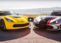 head 2 head video 2015 chevrolet corvette z06 vs dodge Corvette Zr1 Vs Dodge Viper Acr