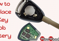how to replace a key fob battery Gmc Key Fob Battery Replacement