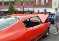 hundreds of cars line downtown cadillac for back to the Cadillac Back To The Bricks