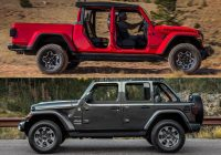 jeep gladiator vs jeep wrangler whats the difference Jeep Gladiator Overall Length