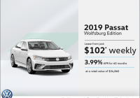 lease the 2019 passat park avenue volkswagen Volkswagen Lease Deals May