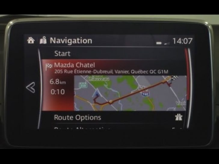Permalink to Mazda Navigation System Review