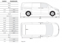 mercedes metris grand caravan interior floor plans Dodge Grand Caravan Dimensions
