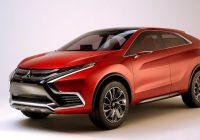 mitsubishi eclipse cross partially revealed in new teasers Mitsubishi Eclipse Cross Phev