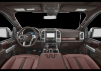 new 2020 ford f 150 king ranch with navigation 4wd Ford King Ranch Interior
