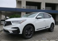 new 2020 acura rdx sh awd with a spec package Acura Rdx Ground Clearance