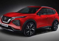 new nissan rogue rendering strips off camo from spy shots Nissan X Trail Next Generation