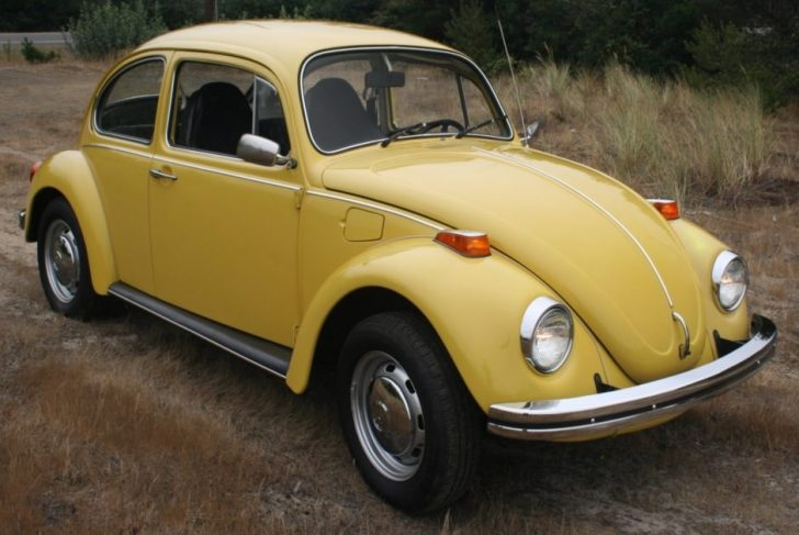 Permalink to Volkswagen Beetle Yellow