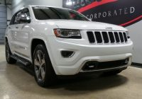 pre owned 2014 jeep grand cherokee overland with navigation 4wd Jeep Grand Cherokee Overland