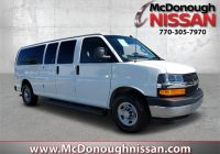 pre owned 2020 chevrolet express 3500 lt rwd extended passenger van Chevrolet Passenger Van