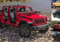 specs and dimensions comparison between gladiator and its Jeep Gladiator Overall Length