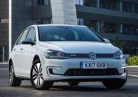 vw e golf 2017 electric car has more range and huge Volkswagen Electric Golf