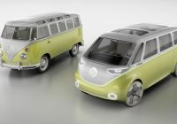 vw unveils the all electric autonomous microbus of the Electric Volkswagen Bus