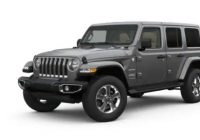 what are the 2020 jeep wrangler exterior color options Jeep Wrangler Unlimited Colors