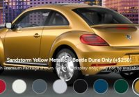 what are the paint color options for the 2020 vw beetle Volkswagen Beetle Colors